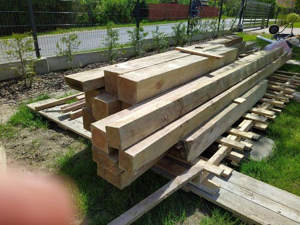 Drzewo konstrukcyjne, drewno, kantówki, słup