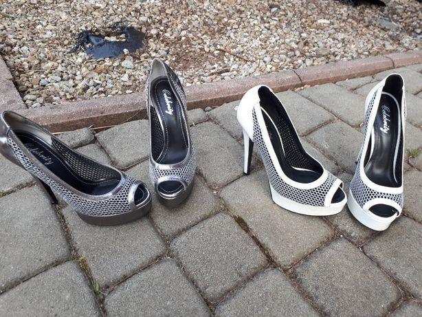 2 pary buty roz. 37 celebrity conhpol