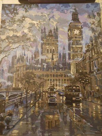 """Картина """"Вечерний Лондон"""""""