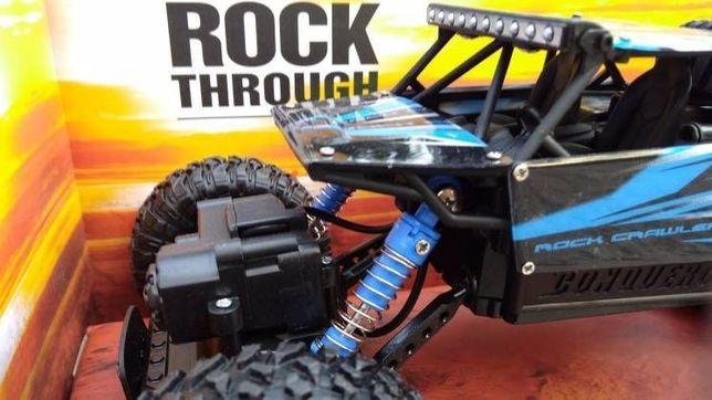 Мощный джип внедорожник, машинка на пульте управления 4Х4 Rock Crawler