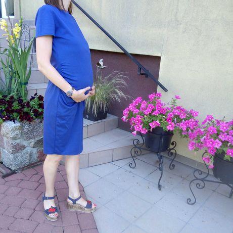 MAMA sukienka ciążowa dopasowana 36/38 zadbana wyprzedaż
