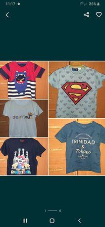 Koszulki T-shirty bluzeczki rozm. 80