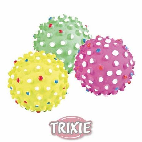 Игрушка для собак - мяч-мина Trixie цельнолитой резиновый 7см
