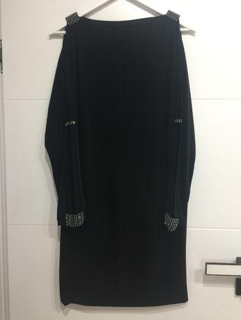 Sukienka wieczorowa czarna mini