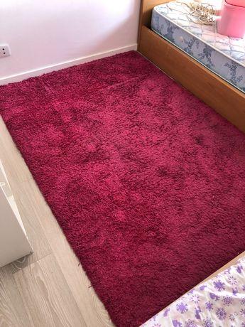 Carpete cor de rosa