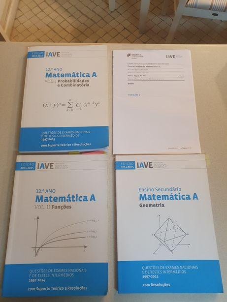 Coleção Livros IAVE Matemática A 12°