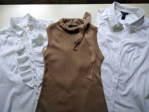 Блуза Топ с коротким рукавом Mango р. 44 – 46
