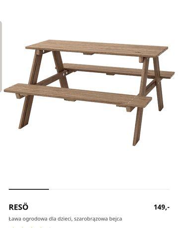 Ławeczka ogrodowa dziecięca IKEA
