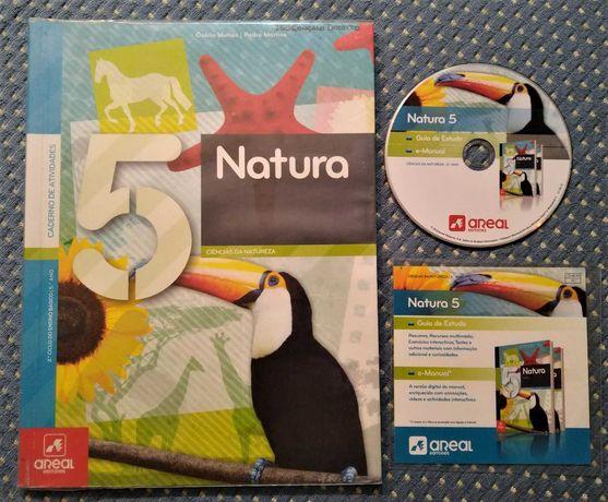 """""""Natura 5 Ciências da Natureza 5º Ano"""" Caderno de Atividades + CD-ROM"""