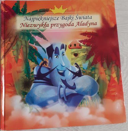 """Książka pt.,,Najpiękniejsze Bajki Świata"""" Niezwykła przygoda Alladyna"""