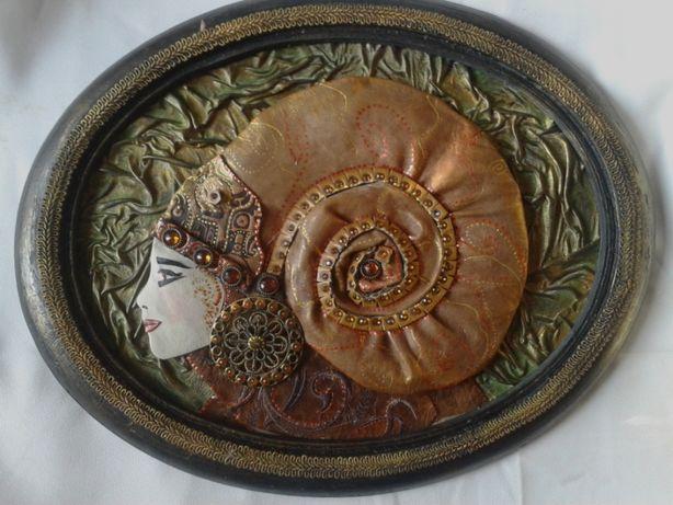 Картины подарки сувениры эксклюзив из натуральной кожи ручной работы