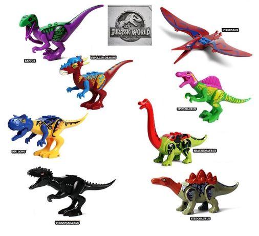 Dinossauros ( Jurassic Park /Jurassic World) nº9 -compativeis com lego