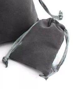 Bolsa jóia/presente em veludo