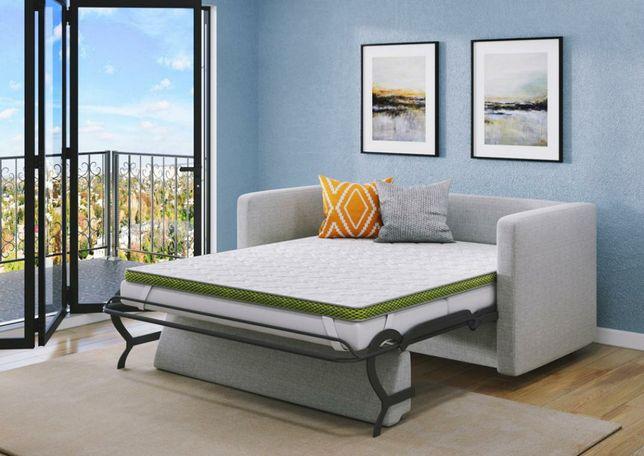 Тонкий матрац на диван або ліжко, топпер, футон