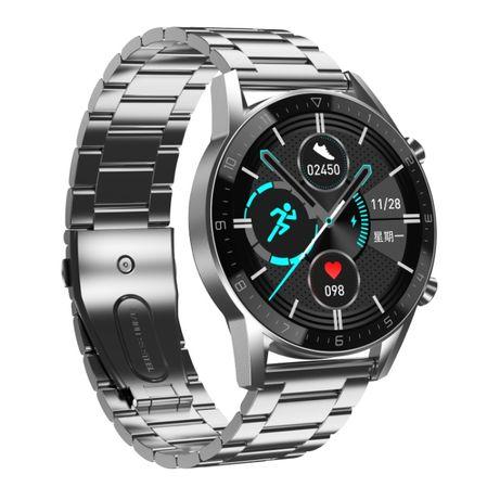 PROMOCJA! Zegarek męski SmartWatch DT92 Rozmowy Pulsoksymetr Ciśnienie