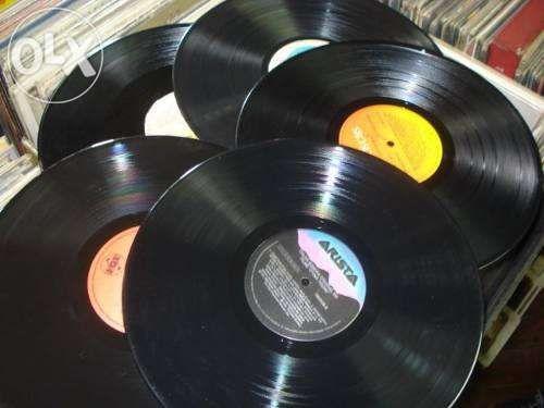 80 Discos de Vinil - LP´s e Singles para decoração