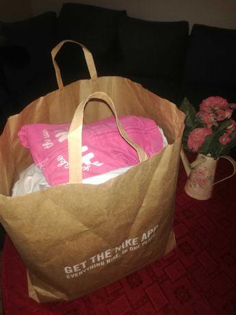 Torba ciuszków dla dziewczynki rozm 80 + nosidelko:)