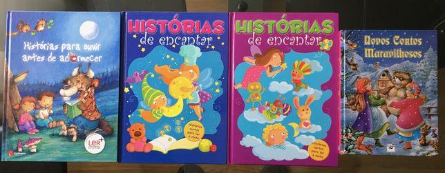 PACK 4 livros infantil criança disney e outros