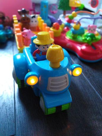 Traktor interaktywny ze zwierzątkami Pepco
