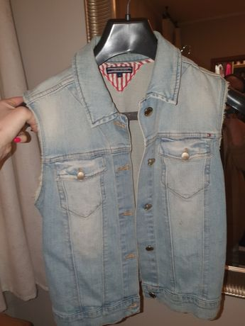 Kamizelka jeansowa Tommy Hilfiger