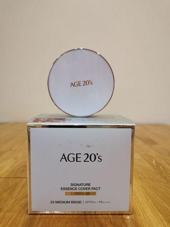 Age 20's Signature Essence Cover Long Stay - kompakt do makijażu
