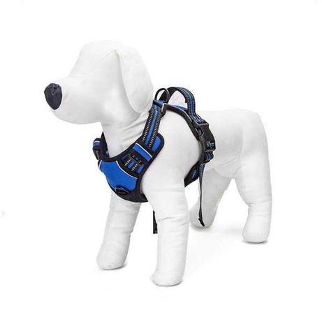 NOVO - Peitoral Cão treino, easy-walk, anti-puxão