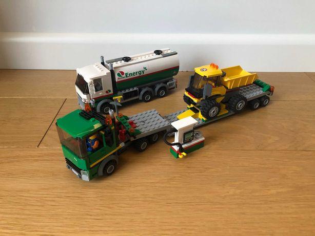 3 Zestawy Lego TIR 4203  + wywrotka 4201 + cysterna 60016