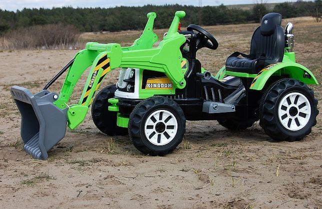 Mocny Traktor Spychacz Koparka Na akumulator