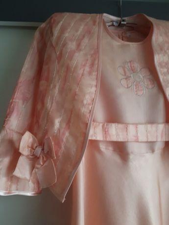 Sukienka wizytowa komunia chrzest wesele roz.146