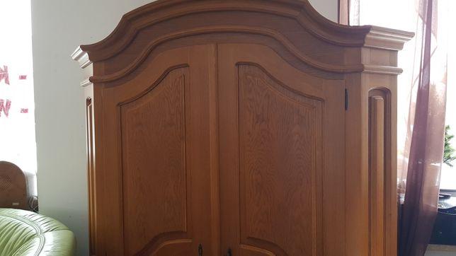 Dębowa szafa 2 dzwiowa 150cm