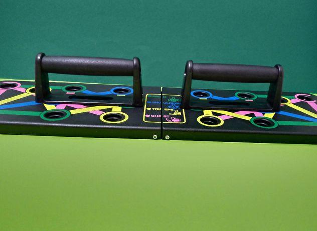 Доска упоры для отжиманий Push Up Rack Board эспандер тренажер Пуш ап
