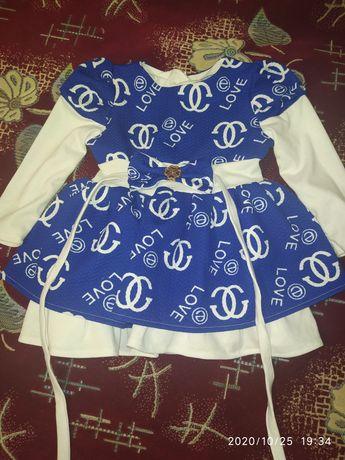 Стильное платье для вашей малышки