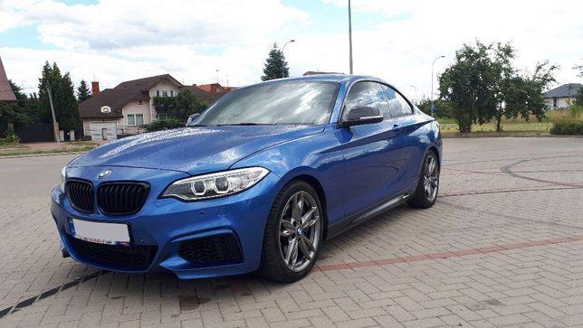 2017 BMW M2 DKG blue