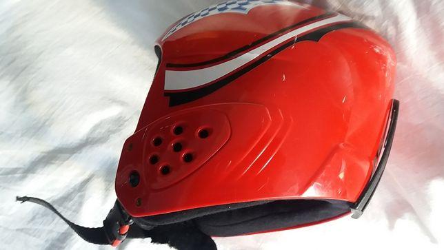 Защитный шлем детский,Горнолыжный детский шлем Alpina -53-54