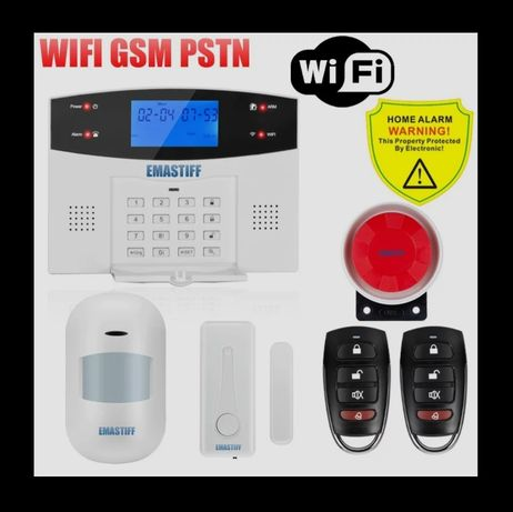 Emastiff gsm wifi домашняя сигнализация
