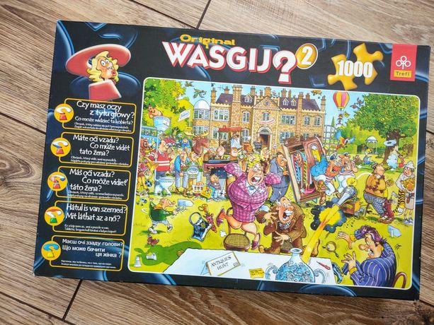 Puzzle Wasgij Original 2Trefl 1000 elementów zagadki targ staroci eyes