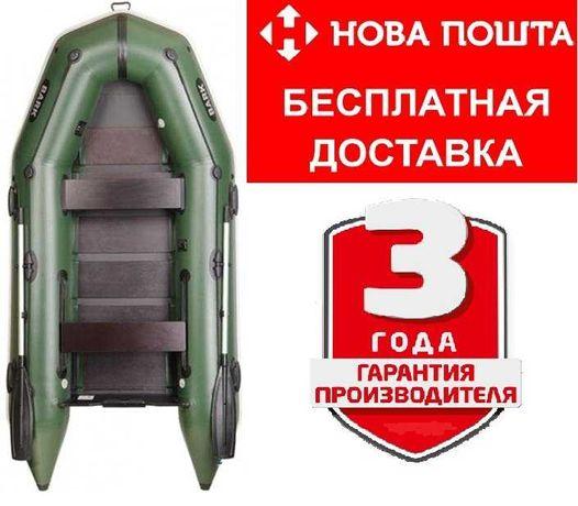 Надувная лодка моторная трехместная BARK BT-310 човен, ГАРАНТИЯ 3 ГОДА