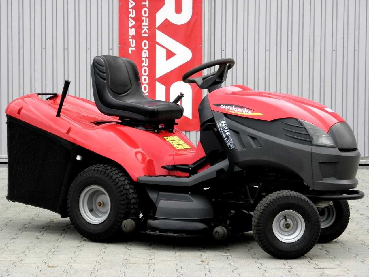 Traktorek kosiarka Castelgarden (300904) - Baras
