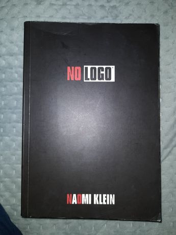 "Książka Naomi Klein "" No Logo"""
