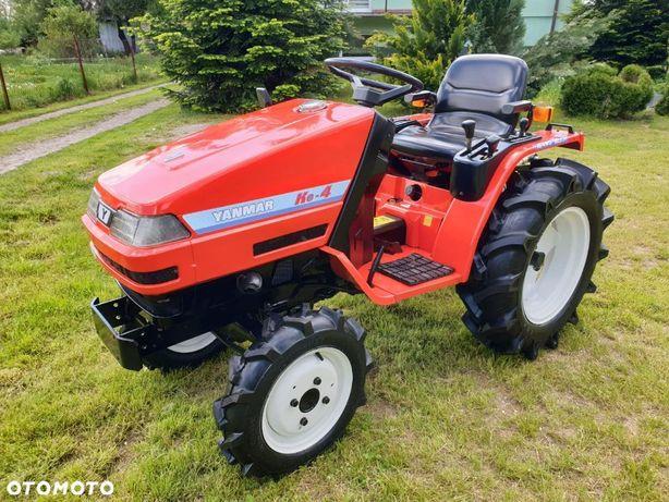 Yanmar Ke4  napęd 4x4 / 15 KM / Film Video / Japoński Traktor Ogrodniczy