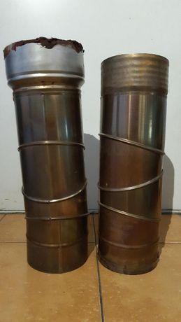 2 szt. Kolano nastawne 90 st FI 140 ŻAROODPORNE kominowe spalinowe