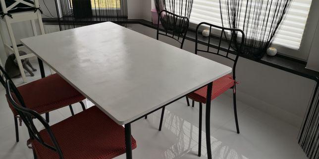 Stół i 4 krzesła do kuchni jadalni