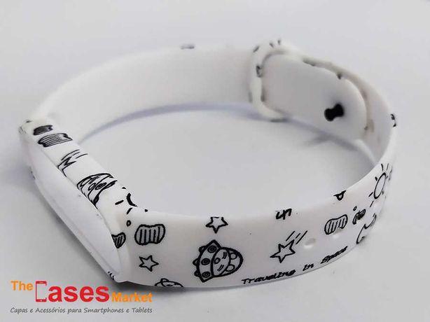 Bracelete silicone Astronauta Xiaomi Mi Band 5 / Mi Band 6