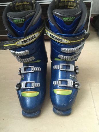 Buty narciarskie w środku 27 cm tecnica