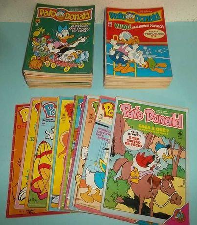O Pato Donald - (Edição portuguesa) - 45 Revistas