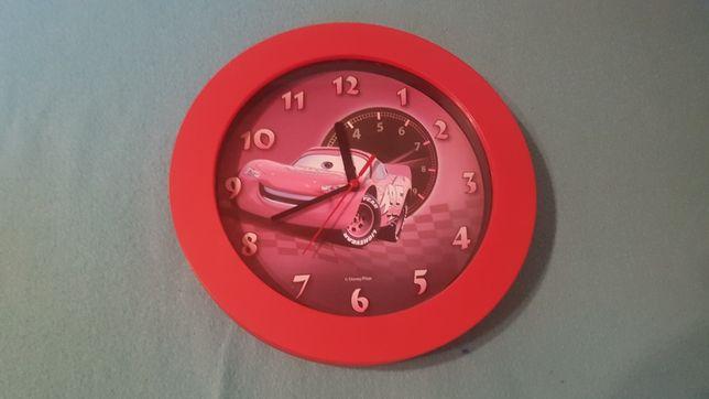 Zygzak McQueen zegar dziecięcy na ścianę