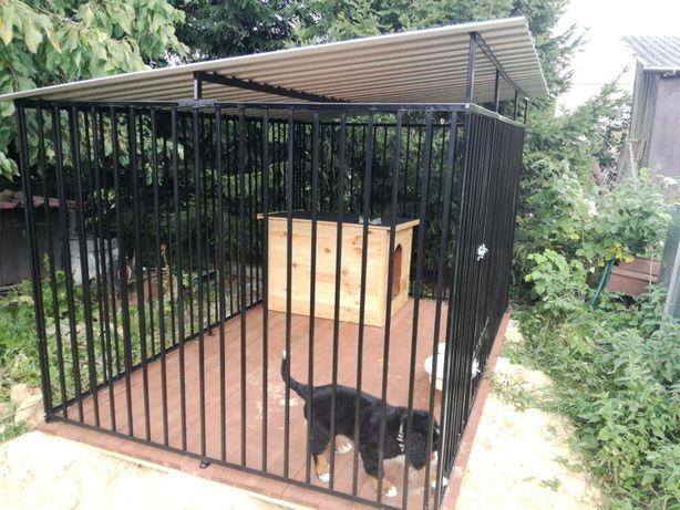 zagroda Klatka kojec Buda dla psa 4x2m Montaż Gratis Solidny