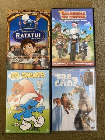 DVDs classicos para criancas
