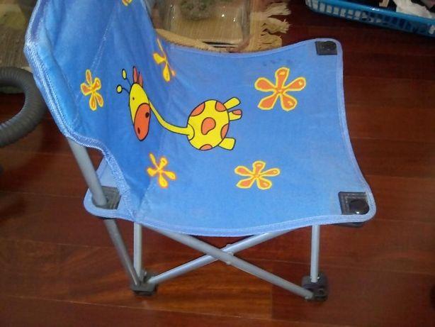 Cadeira criança dobrável