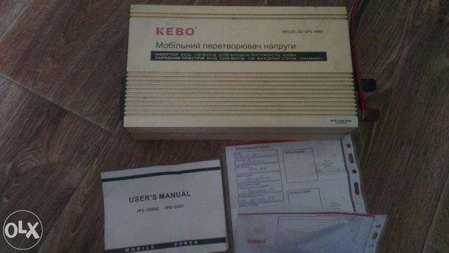 Инвертор Kebo IPS-500C преобразователь напряжения